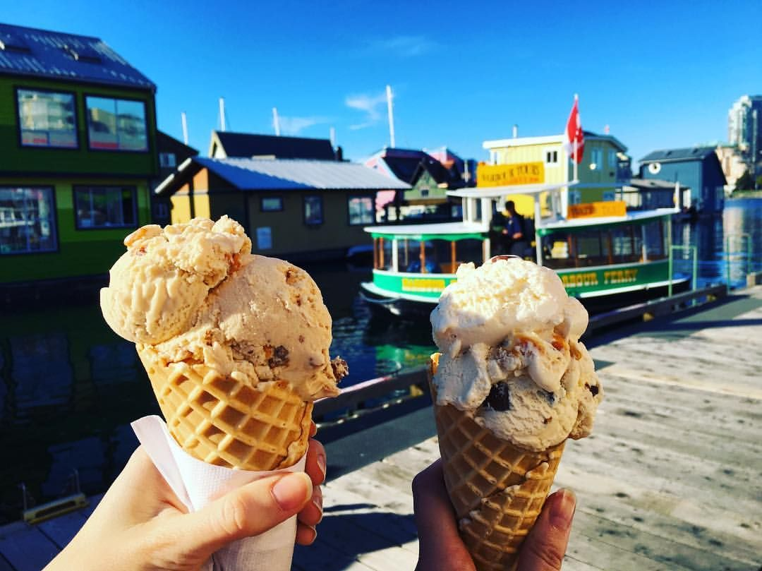 Get the Scoop on Where to Go for the Best Ice Cream on Vancouver Island!